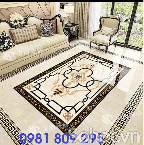 Thảm gạch - thảm trang trí phòng