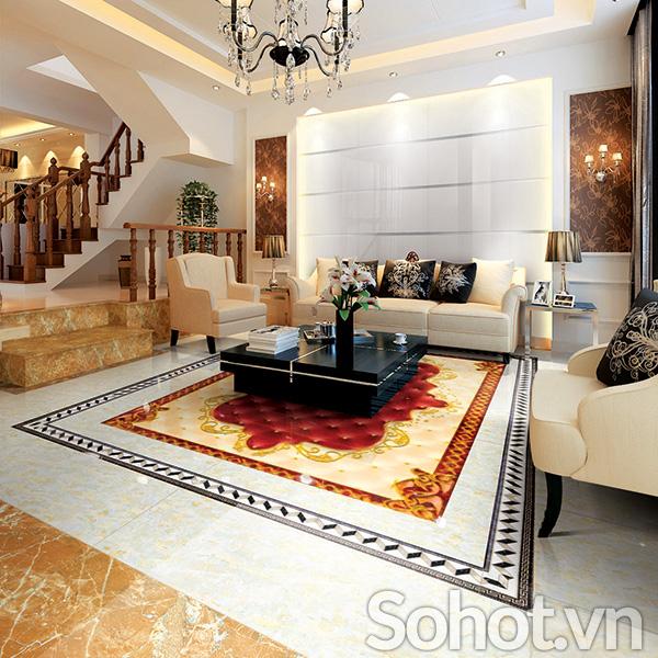 gạch thảm trang trí - thảm lát nền