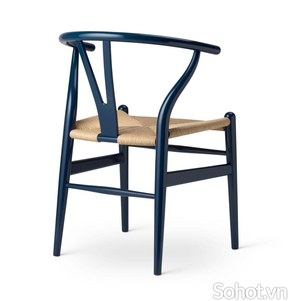 Ghế Wishbone dây đan model 1949