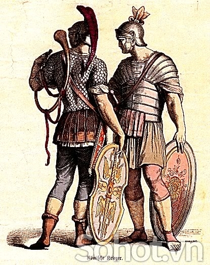 Bộ tượng lính La Mã 4c
