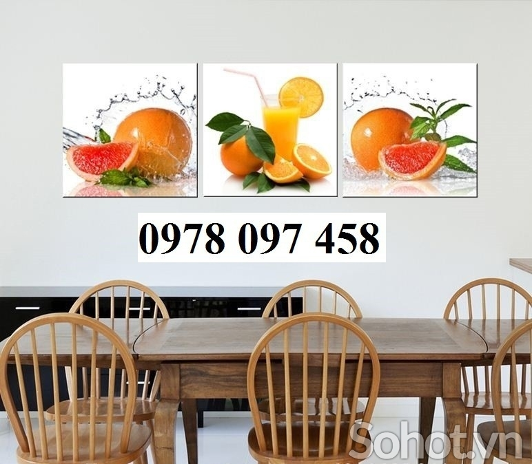 Gạch tranh - tranh phòng ăn