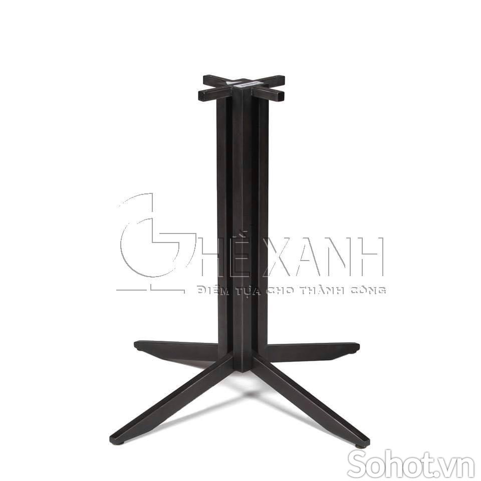 Chân bàn sắt sơn tĩnh điện cao 70cm