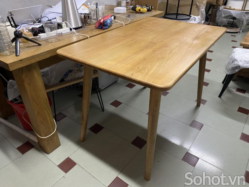 Chân bàn gỗ ash X2021