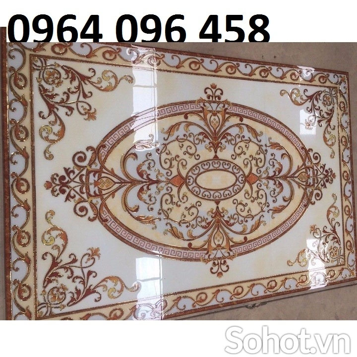 thảm trang trí phòng khách - gạch thảm 3d