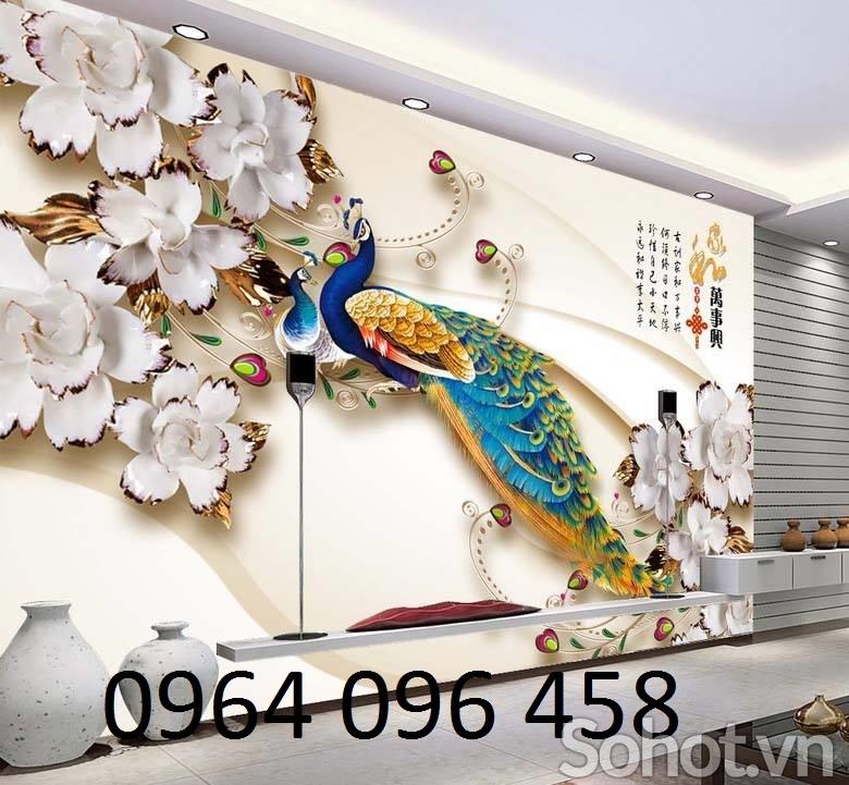 tranh gạch ốp tường 3d cần thơ