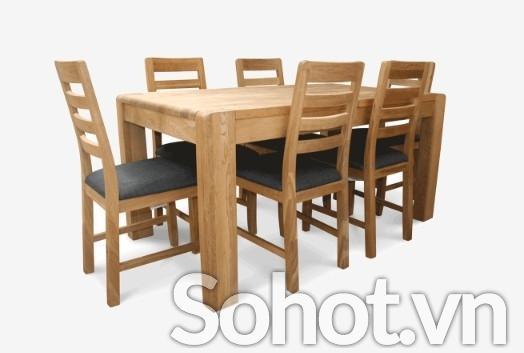 Ghế gỗ sồi Cario