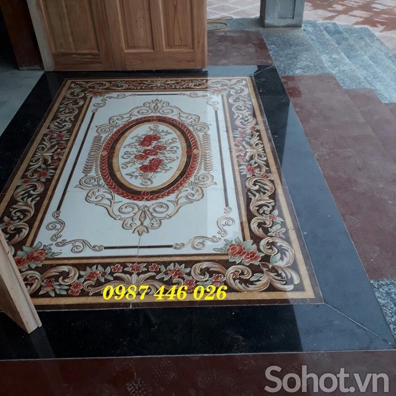 Gạch thảm, thảm gạch lát nền
