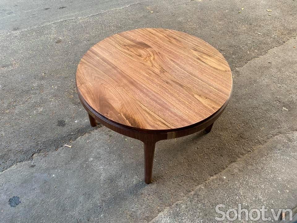Bàn trà gỗ Walnut D70 HX19