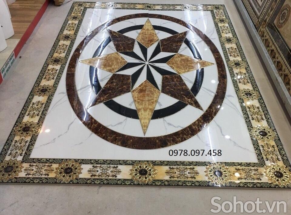 Thảm gạch 3d trang trí tiền sảnh