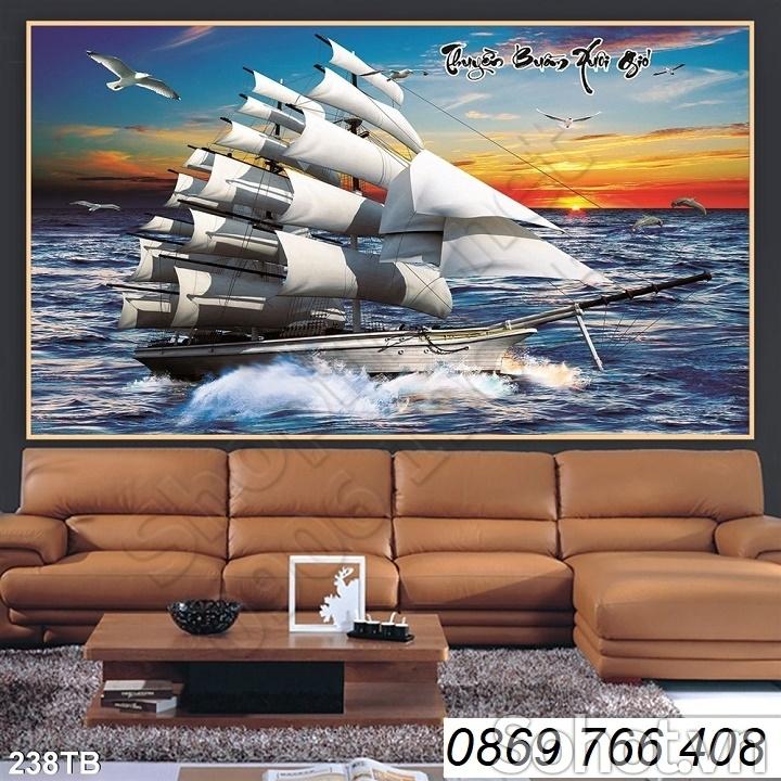 Tranh thuyền 3D