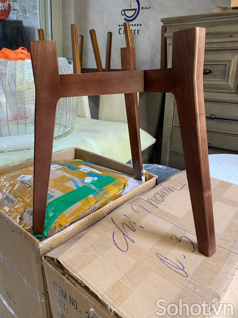 Chân bàn sofa gỗ sồi 55cm