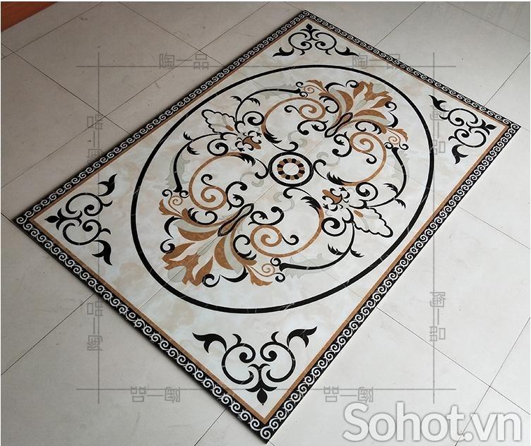 gạch thảm 3d lát nền - gạch lát nền
