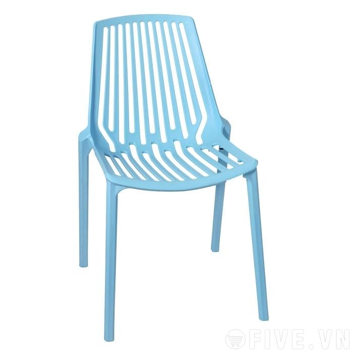 Ghế nhựa đúc 6 màu