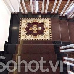 Gạch thảm - thảm hoa văn trang trí cầu thang