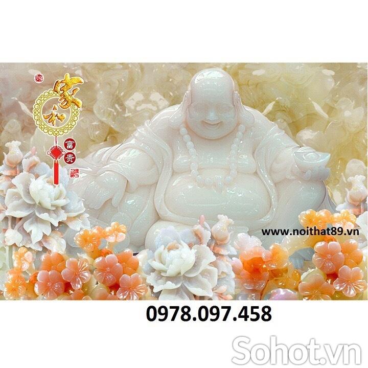 Tranh gạch phòng thờ Phật Giáo