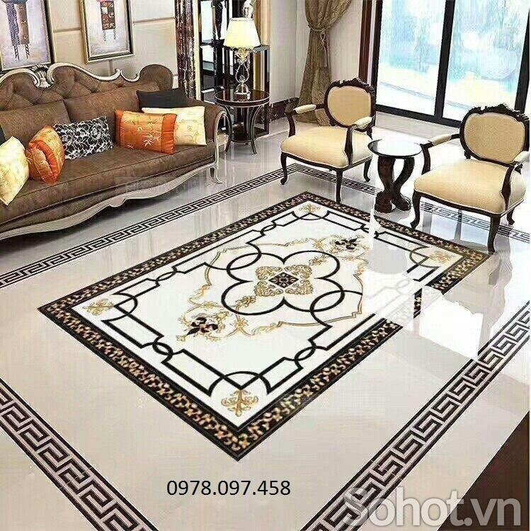 Gạch thảm men hoa văn đẹp