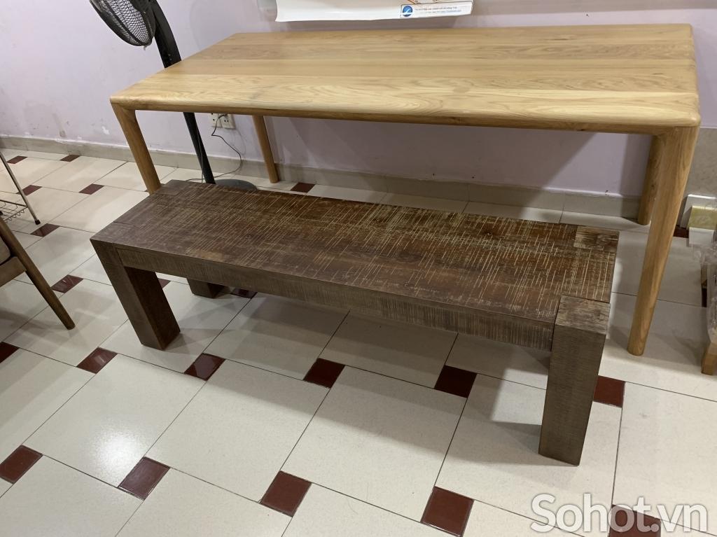 Ghế băng gỗ cổ điển 1m45