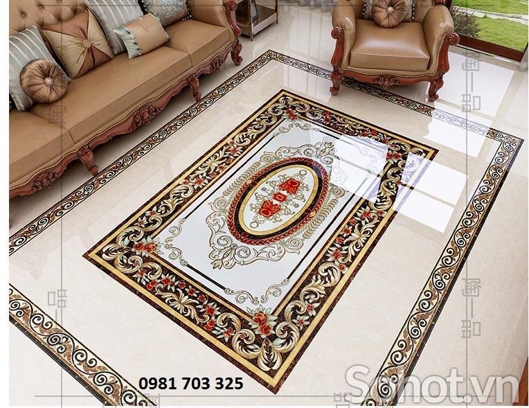 Gạch thảm trang trí- gạch thảm lát sàn