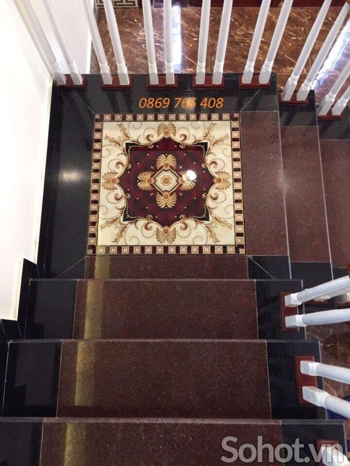 Chiếu nghỉ cầu thang-Thảm lát sàn 3D