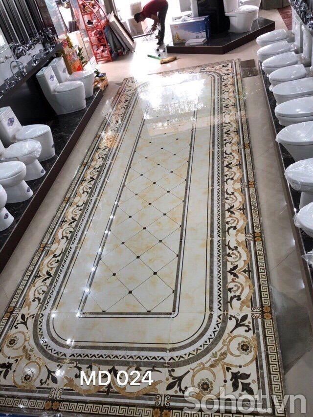 Gạch thảm vô cực kích thước theo yêu cầu