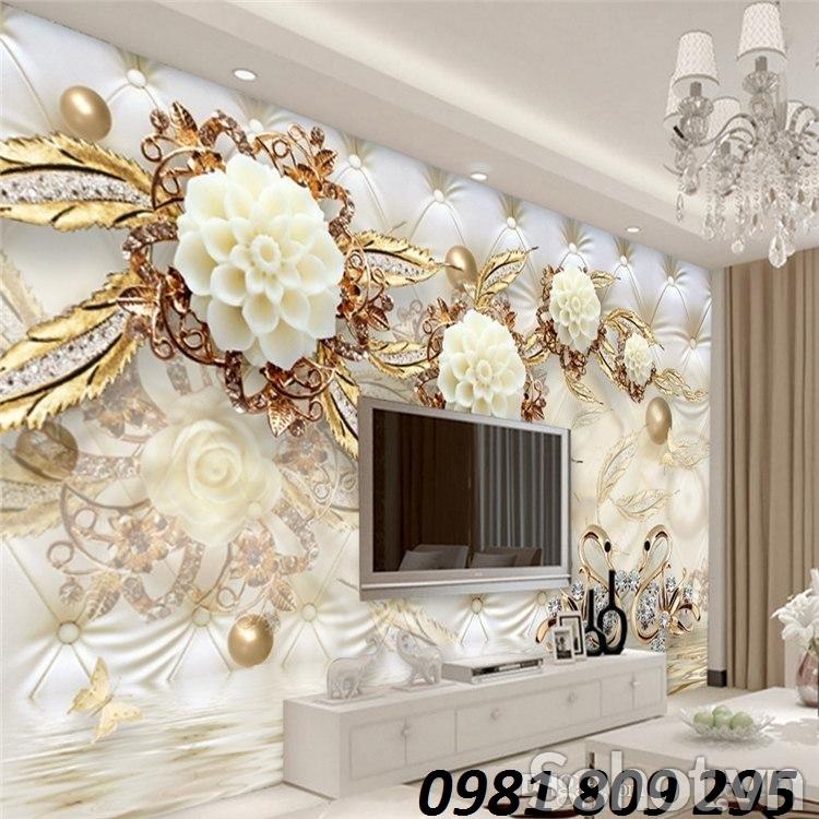 Phòng ngủ ,tranh gạch 3d trang trí phòng ngủ