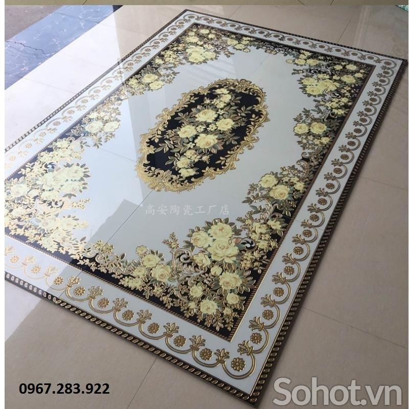 Gạch thảm 3D ốp sàn- Thảm gạch