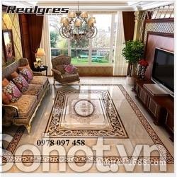 Thảm gạch cao cấp - thảm phòng khách