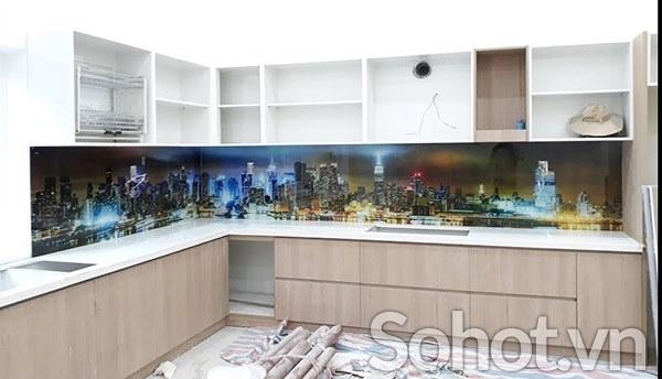 Kinh bếp 3d Công trình kiến trúc