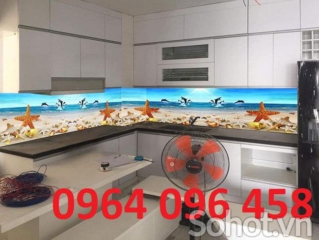 tranh kính 3d ốp bếp - kính ốp bếp - 84XJ