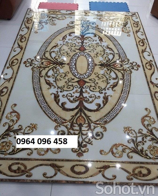 gạch thảm phòng khách trang trí - 12SL