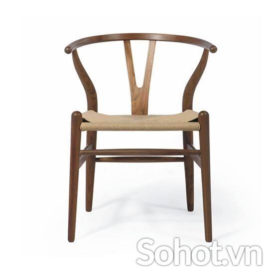 Ghế Wishbone dây đan