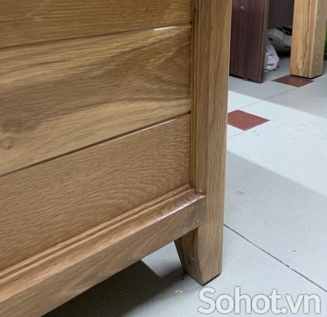 Rương gỗ sồi 1m4