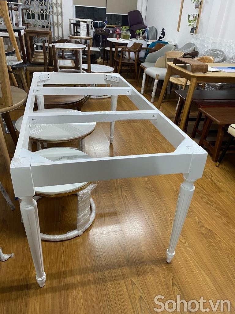 Chân bàn Louis 1m6-1m8