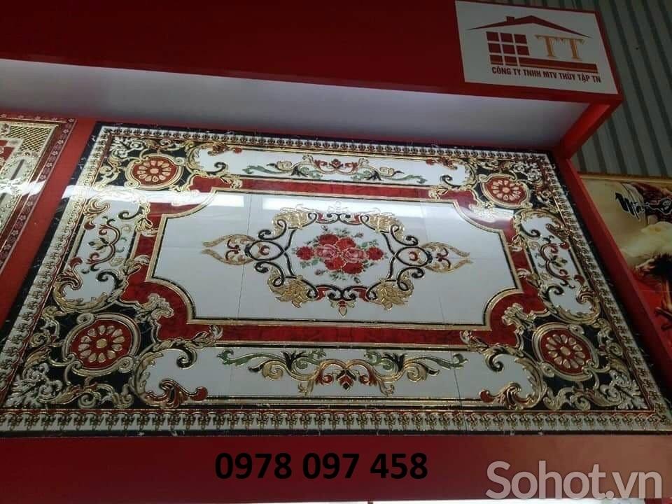 Gạch thảm 3d - thảm phòng khách, hành lang