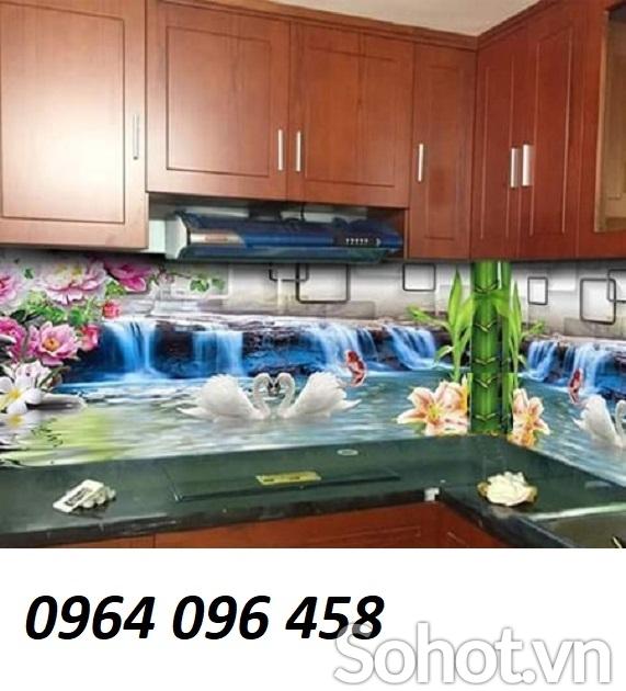 kính ốp bếp - kính màu ốp bếp - 06CK
