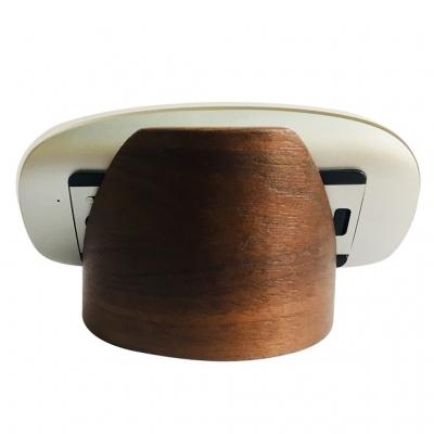Giá Đỡ Điện Thoại bằng gỗ Walnut Plywood