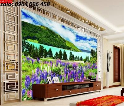 Tranh cảnh thiên nhiên - tranh gạch 3d cảnh thiên nhiên - 876SP