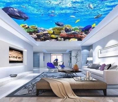 ĐẸP HÚT HỒN với những mẫu Trần 3d đại dương NHƯ THẬT