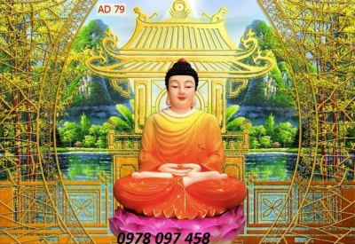 Tranh Phật - tranh gạch 3D