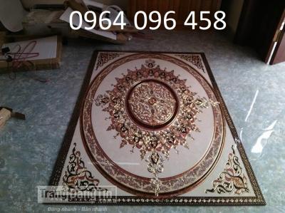 gạch thảm phòng khách - thảm gạch lát nền - KNBV4