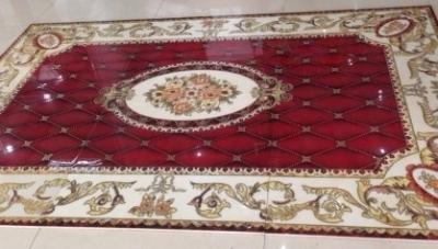 gạch thảm trang trí phòng khách HJ78