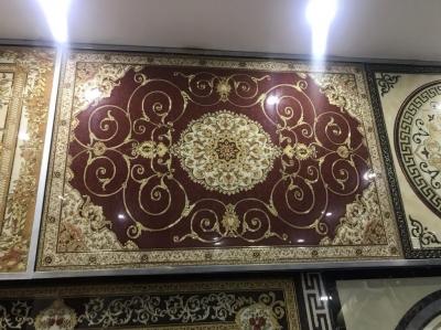 Thảm gạch lát sàn- gạch khắc kim