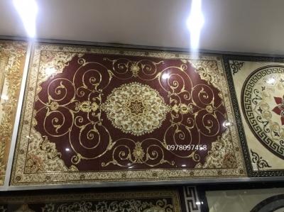 Gạch thảm trang trí phòng khách