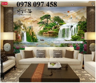 Tranh phong cảnh - gạch tranh dán tường