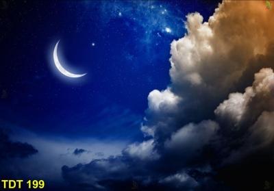 Trần xuyên sáng 3d vân mây NHẸ NHÀNG - THU HÚT