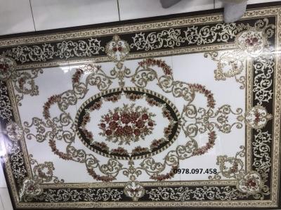 gạch thảm 3d trang trí phòng khách