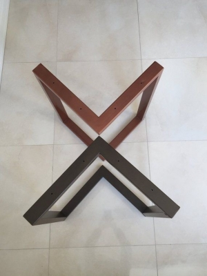 Chân bàn chữ V,chữ X