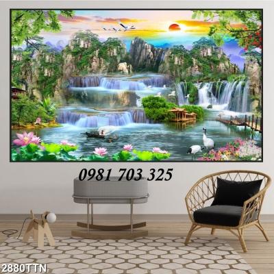 tranh phong cảnh- tranh đẹp trang trí phòng