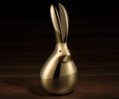 Con Thỏ Trang Trí Bằng Đồng