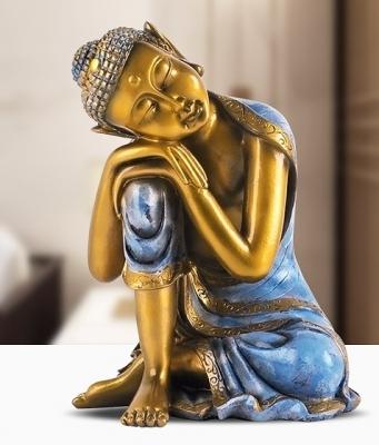 Tượng Phật Ngủ Ngồi